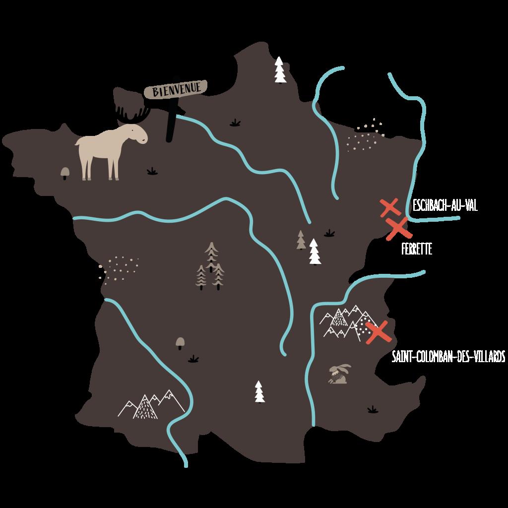 Location en savoie et alsace ALCDC A la croisée des chemins