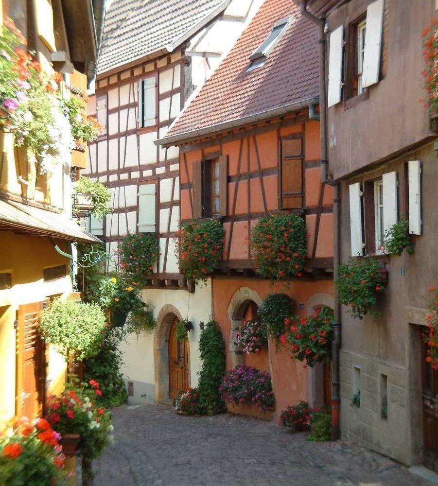 ville maison alsacienne