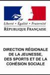 logo agrément direction régionale de la jeunesse et des sports et de la cohésion sociale